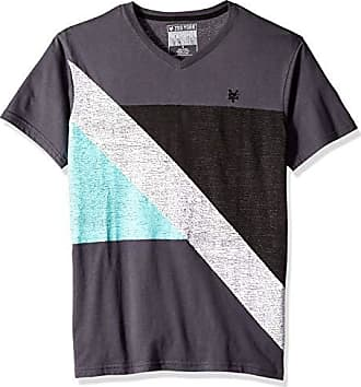 Zoo York Mens Short Sleeve V-Neck Shirt, Street Talk Work wear Large