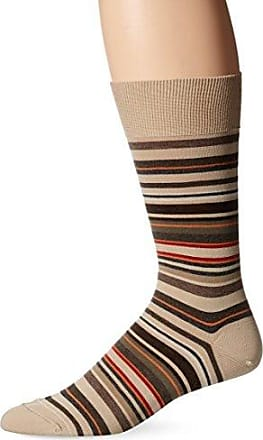 Men/'s Colorful Sky Blue /& Black College Stripe Dress Casual Socks Size 10-13 New