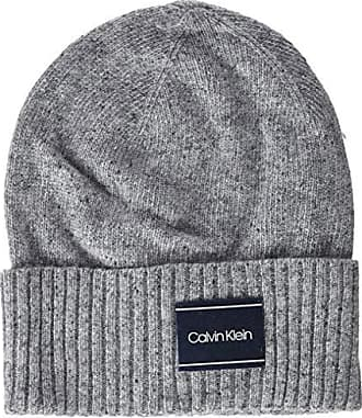 4433c8268 Calvin Klein Neps Beanie, Gorro de Punto Hombre, Gris (Mid Grey Heather B38