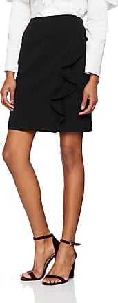 French Connection Womens Sundae Suiting FRLL PENCL SKRT Skirt, Black, 8 (Size:-8-)