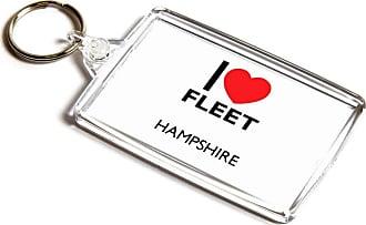 ILoveGifts KEYRING - I Love Fleet - Hampshire