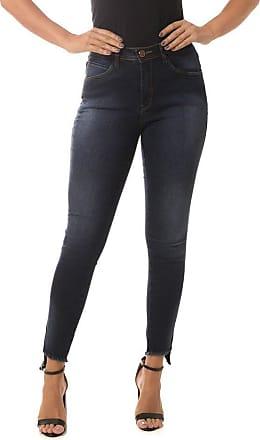 Osmoze Calça Jeans Osmoze Mid Rise Skinny Azul 36