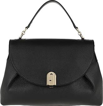 Furla Satchel Bags - Sleek M Top Handle Nero - black - Satchel Bags for ladies