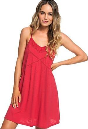 fa0a8a7bce1 Roxy New Lease Of Life - Robe de plage à bretelles pour Femme - Rouge -