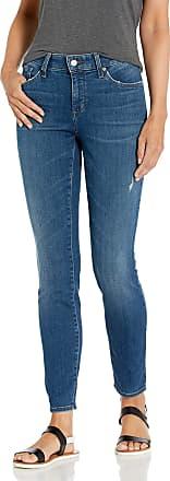 NYDJ Womens Ami Skinny Legging in Platinum Series Denim, Parke, 4