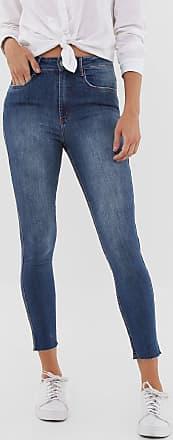 Lança Perfume Calça Jeans Lança Perfume Skinny Estonada Azul