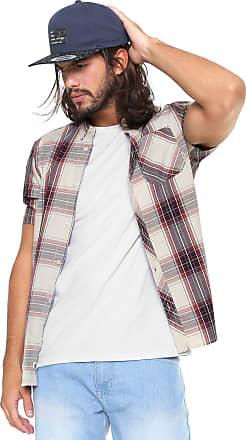 Element Camisa Element Reta Xadrez Cedar Bege