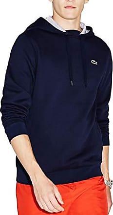 3e0f69e650c2 Lacoste Sport SH2128 Sweat-Shirt Homme Bleu (Navy Blue Silver Chiné Kza)