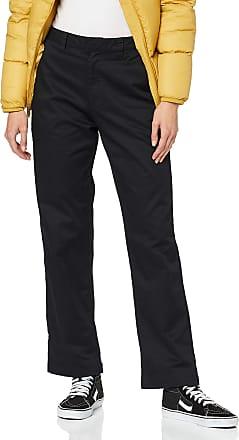 Volcom Womens Frochickie Boyfriend Trousers, Black, 30W / 28L