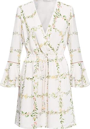 Dress To Vestido Estampa Flora - Bege