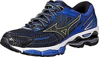 finest selection 03cbc d9c51 Mizuno Wave Creation 19, Chaussures de Running Homme, Multicolore  Black dazzlingblue 10,