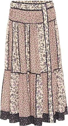 Ulla Johnson Josephine floral cotton-blend midi skirt