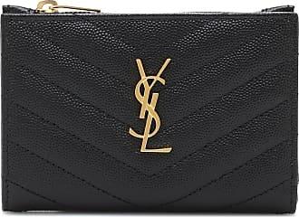 Saint Laurent Monogram zipped leather wallet