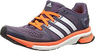 online retailer 7968d 5b0cf adidas Damen Adistar Boost Trainieren Laufen, Multicolor (Ash  Purple White Solar