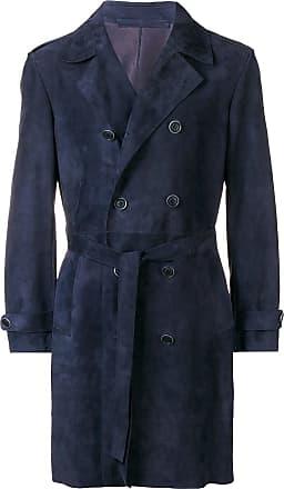 Salvatore Santoro Trench coat midi - Azul