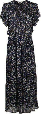 Zadig & Voltaire star-print flared dress - Blue