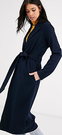 Y.A.S long line belted coat-Navy
