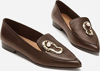 Flattered Alexa Brown Leather Brown