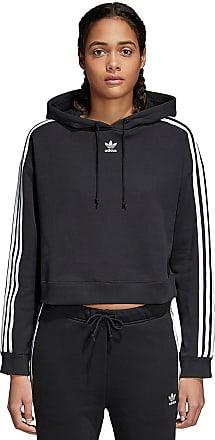 adidas Originals Cropped - Kapuzenpullover für Damen - Schwarz 474211d1e9