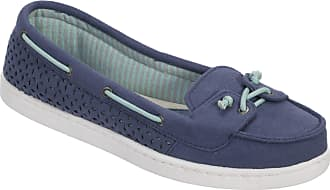 Dearfoams Womens StepOut Mocasin is Fantastic for Traveling, Very Light and Comfortable with Our Famous Memory Foam Dia Day and Inside Home Purple Size: 5 UK