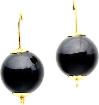 Tinna Jewelry Brinco Com Resina (Preto)