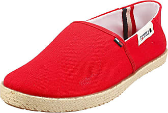 Tommy Jeans Summer Shoe Mens Slip On Shoes in Red - 10.5 UK
