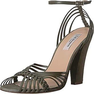 4ad9dcdbe3c6 L.k. Bennett Womens LILYBELLE Heeled Sandal gre-Khaki 39.5 Medium UK (9 US)