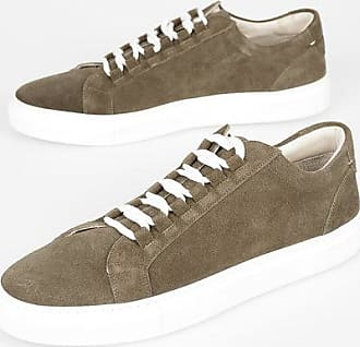 Corneliani CC COLLECTION Suede Leather Sneakers size 8