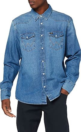 Wrangler Mens Icons Jeans Jeansjacke, Blue (2 Years 922), XX-Large