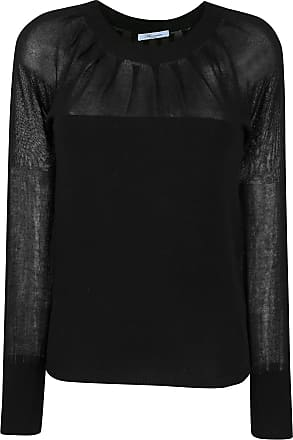 Blumarine Suéter translúcido - Preto