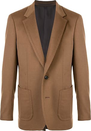 Kolor knitted single breasted blazer - Brown
