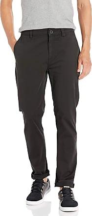 O'Neill Mens Slim Fit Stretch Chino Casual Pants, Black/CYD Modern, 34