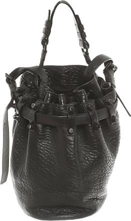 Alexander Wang gebraucht - Alexander Wang-Diego Bucket Bag Small aus Leder in Schwarz - Damen - Leder