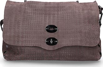 Zanellato Handbag POSTINA M leather embossed brown