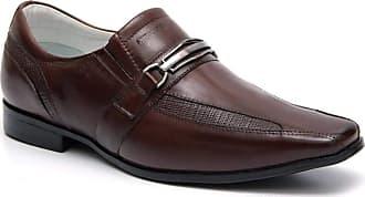 Generico Sapato social masculino super confort, em legitimo couro mestiço(pelica), solado de borracha, forrado com napa de couro, palmilha espumada modelo 030