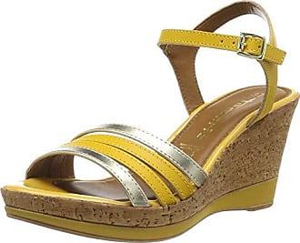 Sandales à 29406 talons femmes Argent pour compensés Tamaris