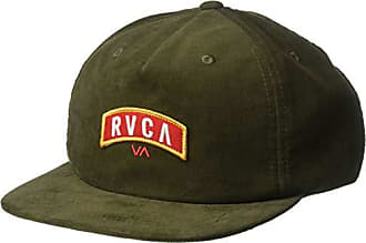 7944dd4f Rvca Mens Everett Snapback HAT, Olive, ONE Size