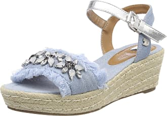 2f6faf52190 Tom Tailor Womens 4895807 Ankle Strap Sandals
