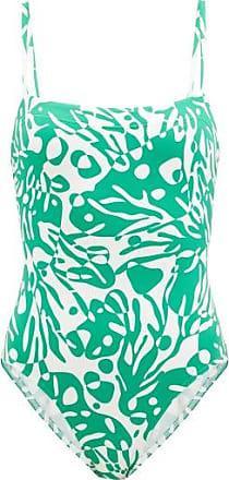 Eres Mantaray Coralsand-print Swimsuit - Womens - Green White