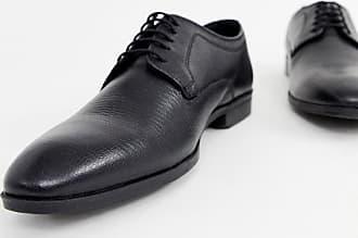 5ac01bbd0dc21 Pier One Chaussures habillées à lacets avec motif serpent en relief - Noir