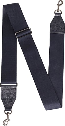 MQaccessories Adjustable Shoulder Strap in Cervocalf Leather with Clasp Closure