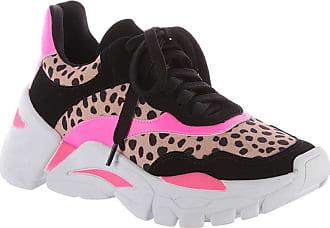 Damannu Shoes Tênis Sneaker Drew Onça Pink Neon - Cor: Rosa - Tamanho: 36