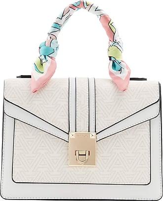 Aldo Womens Legalilith Dome Satchel Handbag, Other Beige, One Size