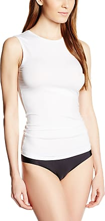 Hanro Womens Soft Touch / Top Vest, White (white 0101), 12-14 (Manufacturer Size: M)