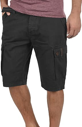 9966d9a2eb Solid Valongo Mens Cargo Shorts Bermuda with Belt Made of 100% Cotton  Regular- Fit
