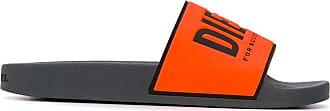 Diesel Ciabatte con stampa - Di colore arancione