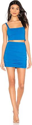 Superdown Derhonda Jersey Set in Blue