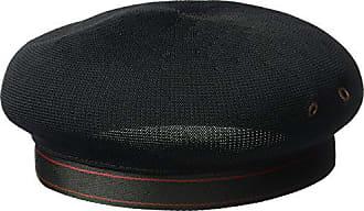 Kangol Mens Tropic Beret Hat, Black, S