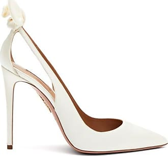 Aquazzura Escarpins en satin à noeud Deneuve 105