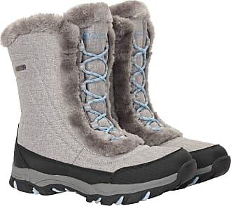 Mountain Warehouse Ohio Womens Snow Boots - Waterproof Ladies Winter Shoes, Textile Upper, Durable & Breathable Isotherm Lining & Rubber Outsole - for fit and Comfort Li